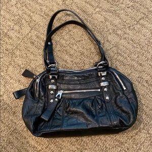 Makowsky Black Shoulder Bag